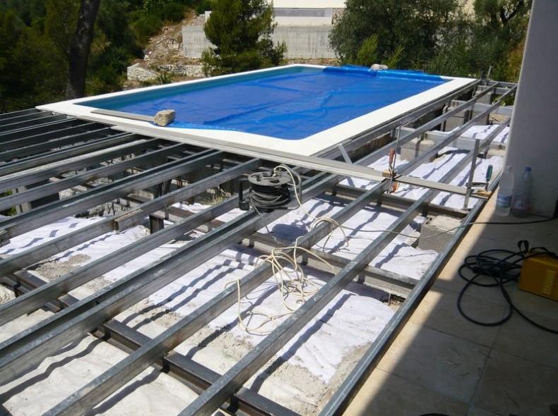 - Terrasse piscine bois composite nanterre ...