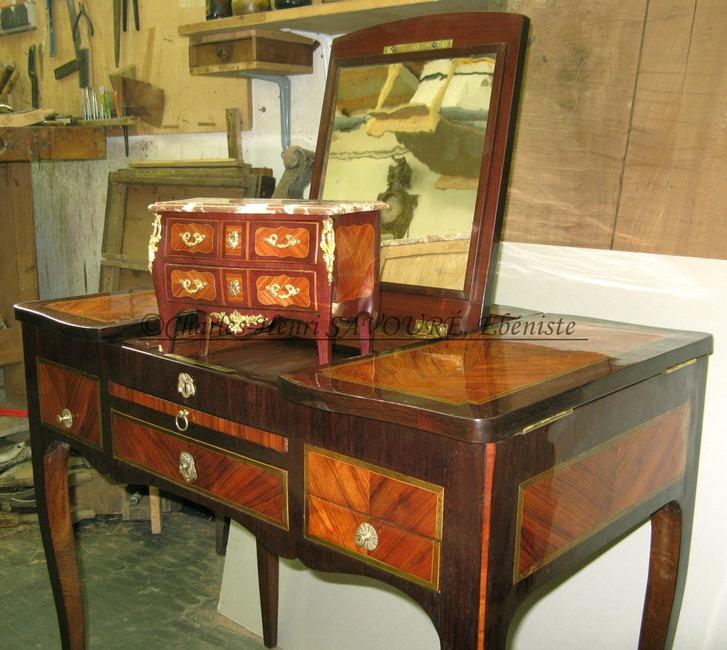 Charles henri savour eb niste for Restauration de meubles anciens