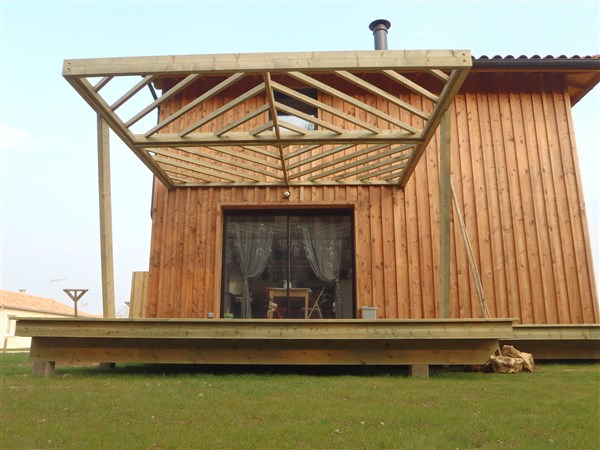 Baty r charpente traditionnelle et construction en bois for Construction bois 22